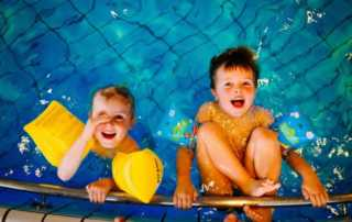 Awesome Facts About Having a Pool at Home - children in the pool