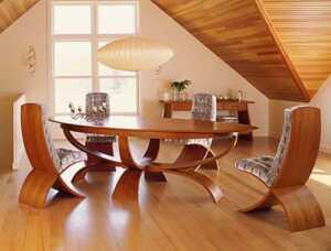 Five advantages of wooden furniture