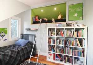 How to Make a Loft into Something Cool - kids room
