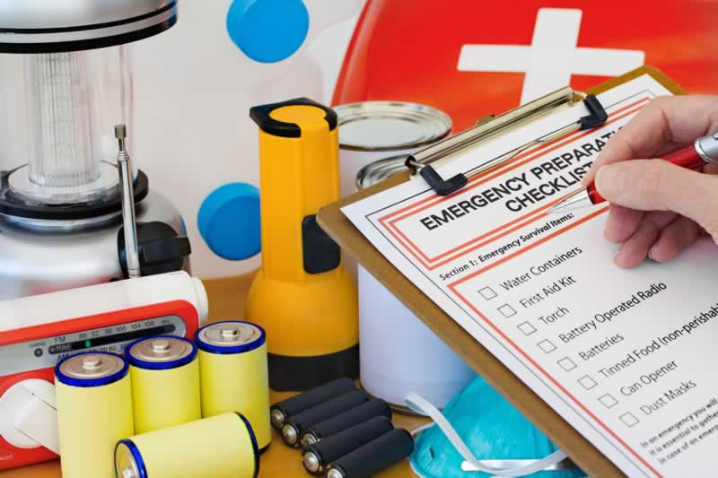 How to Plan and Prepare for Emergencies at Home - checklist