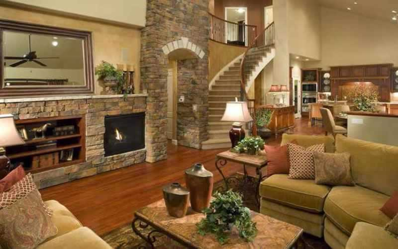 How to manage home improvement essentials within your budget - beautiful living room