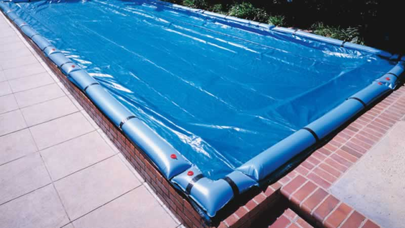 How to winterize your residential swimming pool - inflatable ring