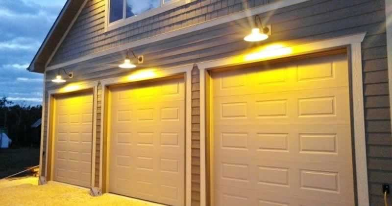 Is your garage safe from thieves - lights