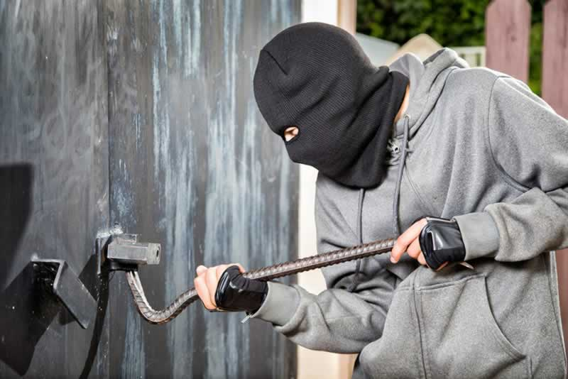 Is your garage safe from thieves