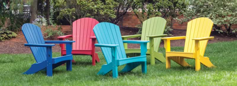Recycled Eco-Friendly Plastic Patio Furniture Buying Guide - chairs