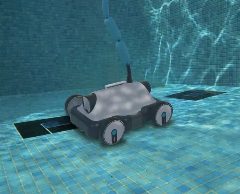 Robotic Pool Cleaners - Are They A Good Investment For Your Pool - under water