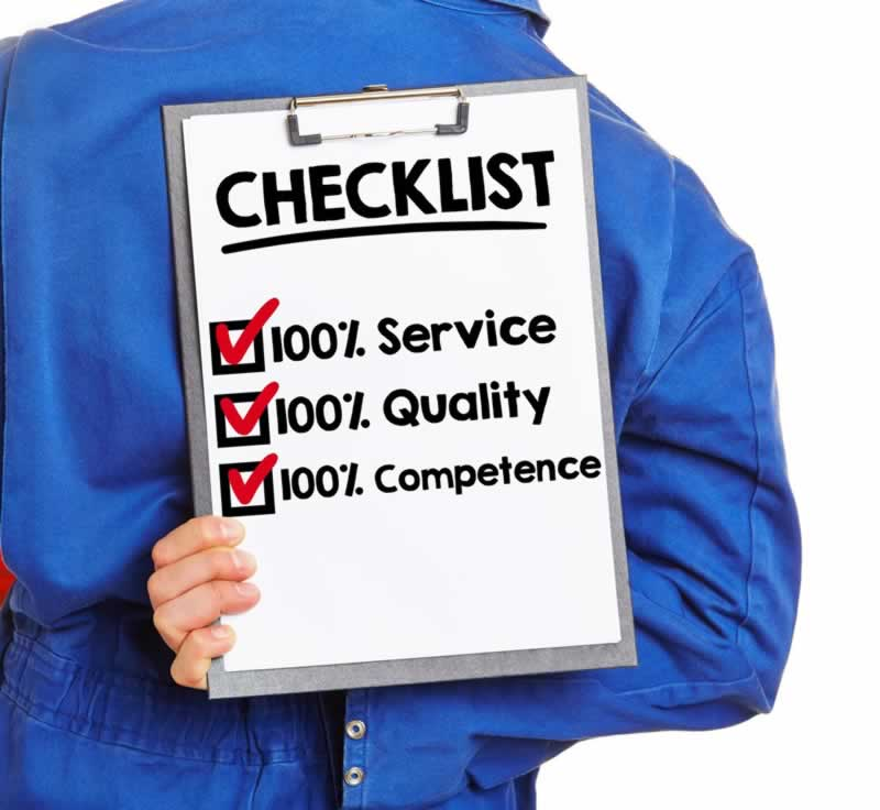 What qualifications should a plumber have - checklist