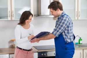 When is the right time to call a professional plumber - signing