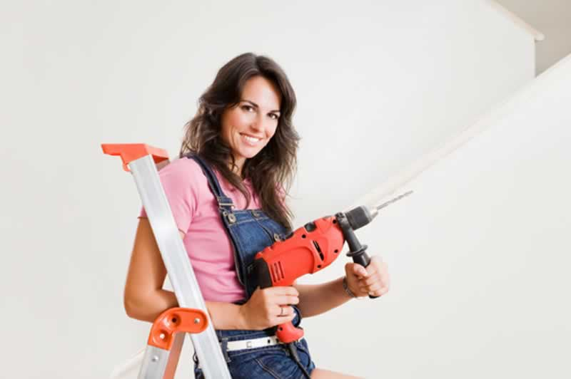 12 Home Tools Every Woman Should Own - drill
