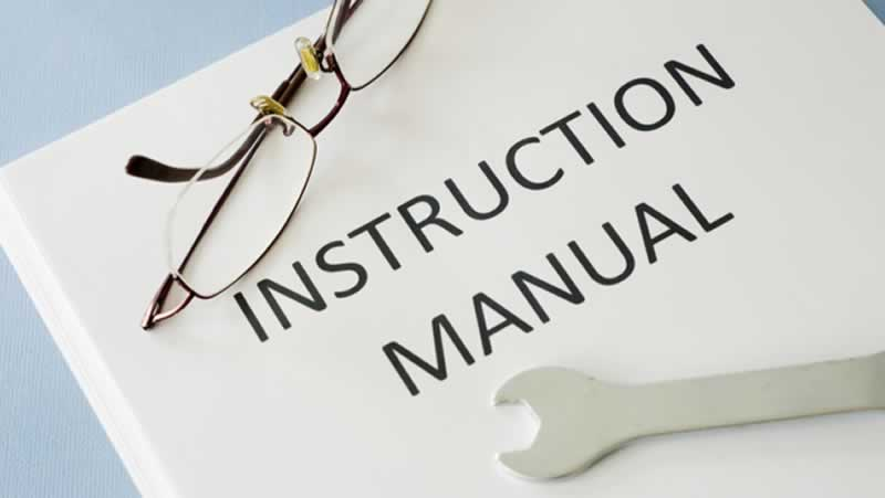 5 Things you may not know about instruction manuals for products - manual