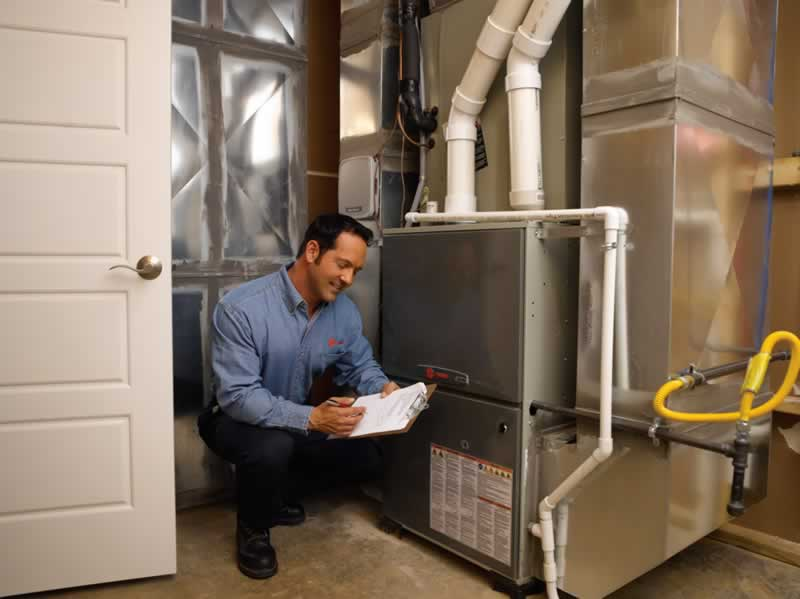 8 Signs You Need Install a New Furnace - technician