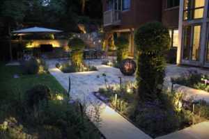 9 Landscape Lighting Design Tips for a Beautiful Home - beautiful garden