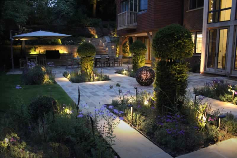 9 Landscape Lighting Design Tips for a Beautiful Home - beautiful garden