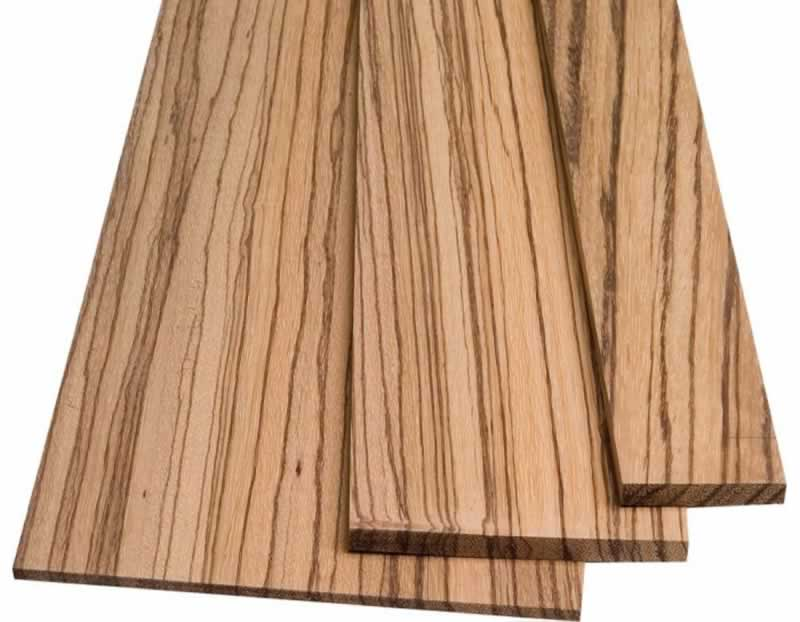 Different Types of Wood and Their Uses - zebra wood