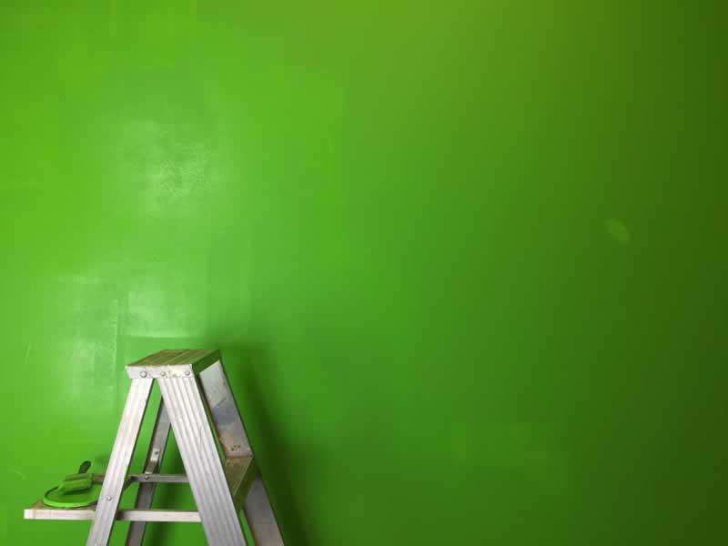 Green Kitchen Remodeling Tips - walls