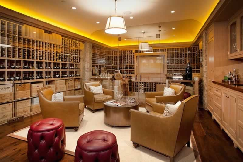 Setting Up A Home Wine Room