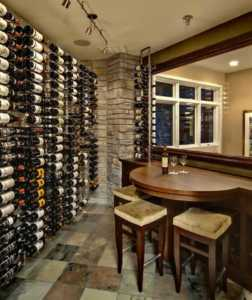 Setting Up A Home Wine Room - storage