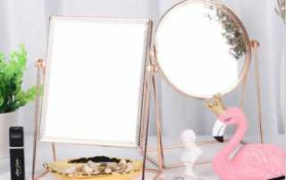 Things you should know before buying a rose gold mirror for your home - makeup