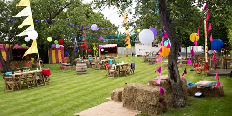7 Easy steps to plan a perfect garden party