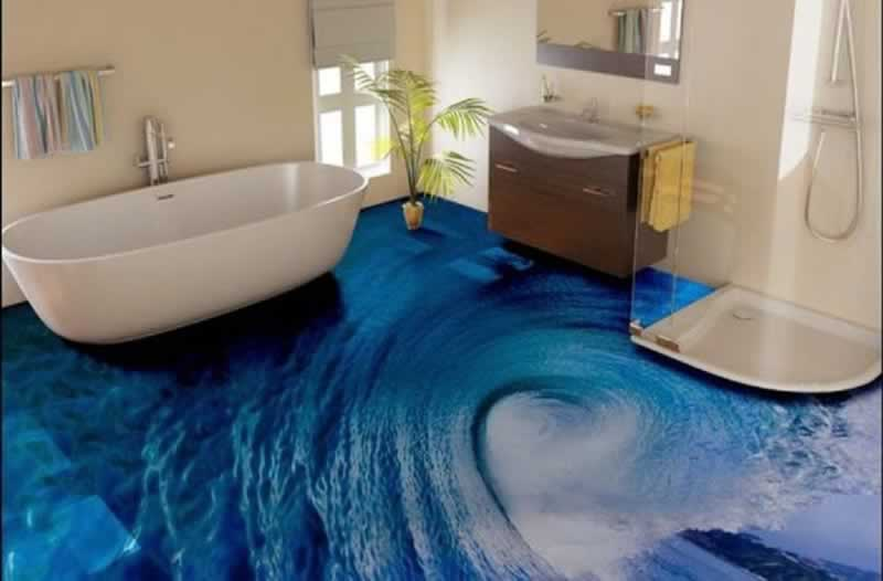 Benefits And Drawbacks Of Epoxy Floors - 3D epoxy floor