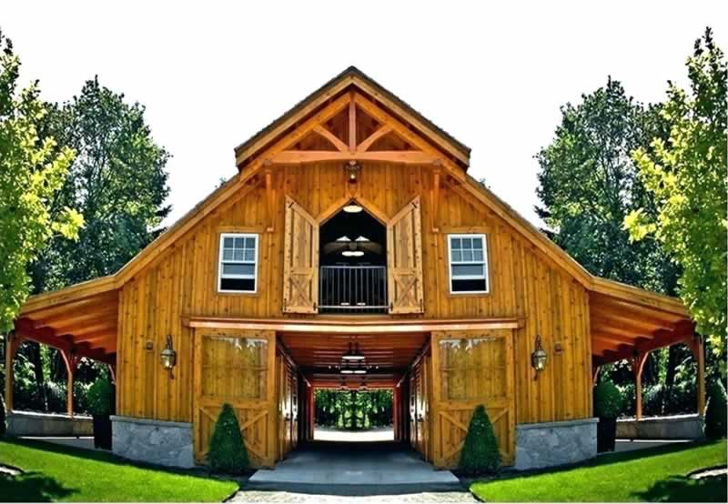 Guide to building a barn house - amazing barn house