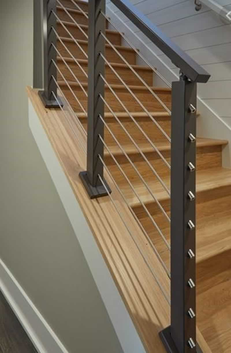 Handrail Designs for stylish staircase