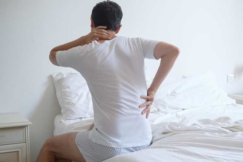 How To Determine If It's Time For A New Mattress - acking back
