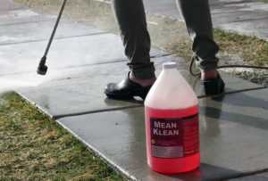 How can you make your concrete clean again - pressure washer