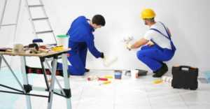 How to Find a Contractor for Home Renovations - painting the walls