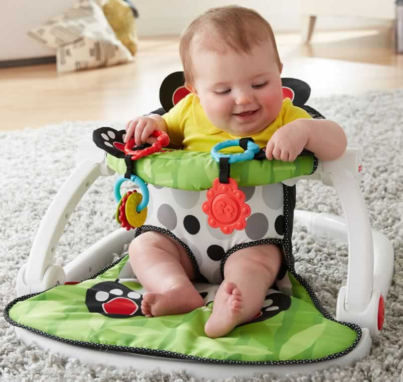 Is floor seat good for baby
