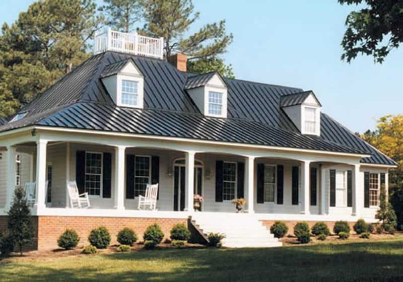Lifespans for 3 Common Roofing Materials - metal roof