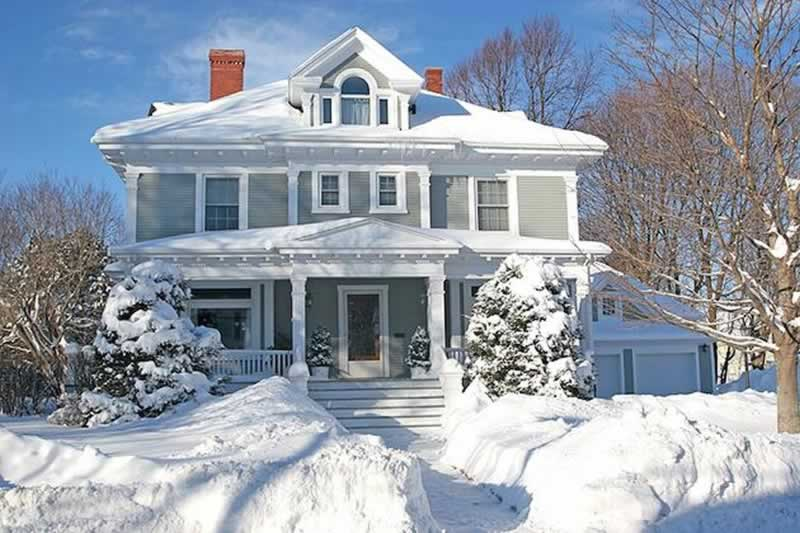 Prepare your home for winter - snow