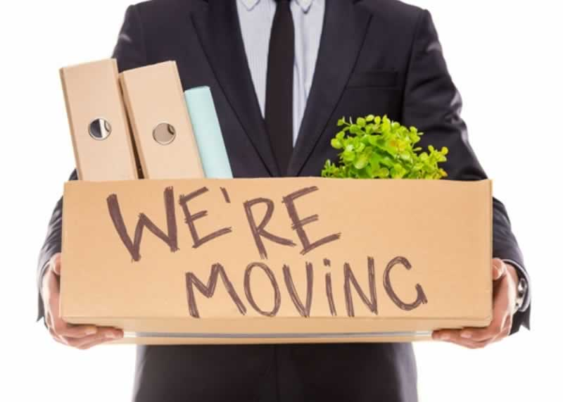 Relocating your office - we're moving