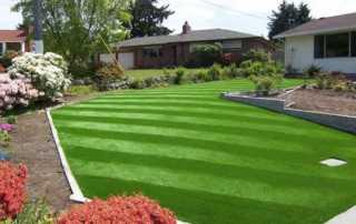 Residential Artificial Turf - beautiful artificial lawn