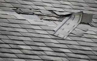 Roof Damage Repair Guide - damaged shingles