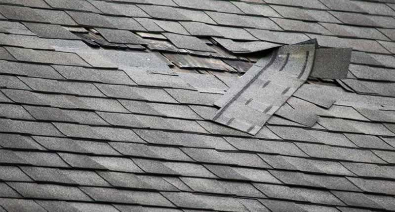 Roof Damage Repair Guide - damaged shingles