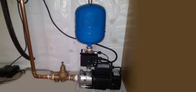 What is a Water Booster Pump - pump with tank