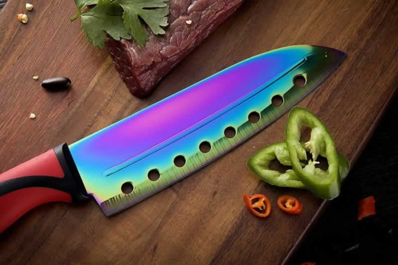 What to Look For When Buying a Knife Set - titanium coated knife