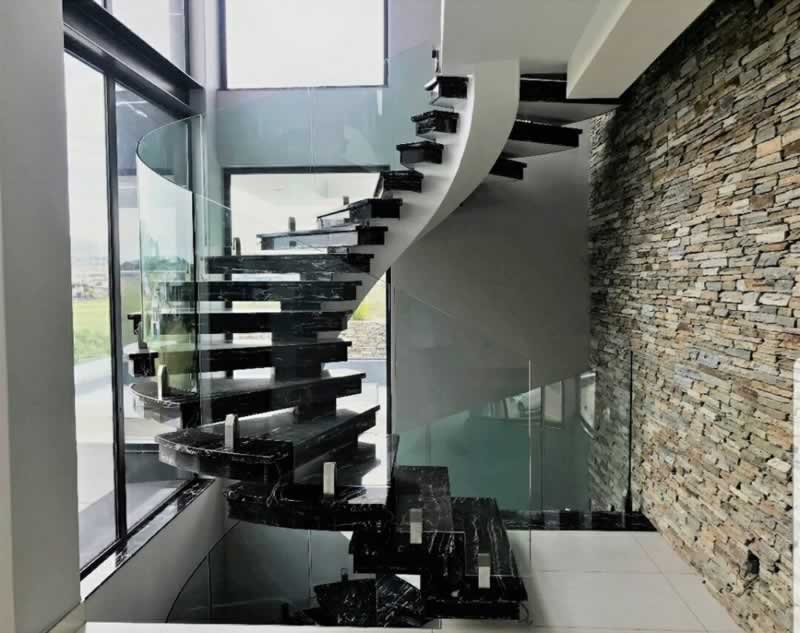 A Glass Balustrade Is a Great Addition To Any Home Or Office - frameless balustrade