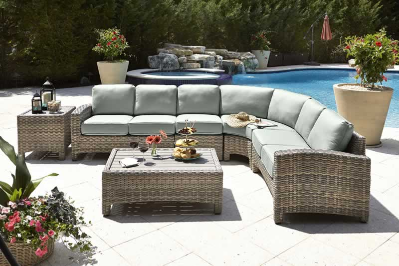 A Guide to using cushions outside - outdoor seating area