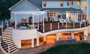Benefits of Installing Custom Decks to Your Home - amazing custom deck
