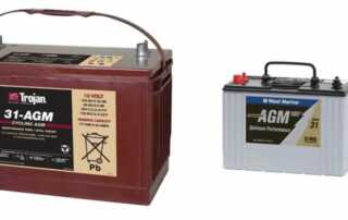 Group 31 AGM battery