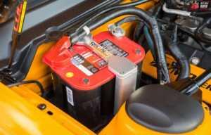 Group 31 AGM battery - Nascar car