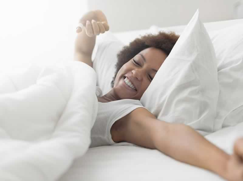How Your Mattress Affect Your Health - waking up