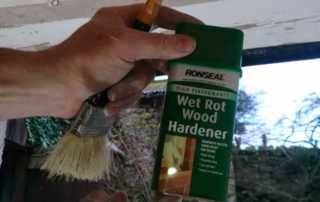 How to identify and treat wet rot - treating wet rot