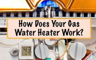 How your gas water heater works