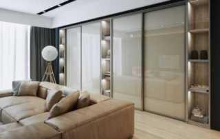 Installing sliding wardrobe doors