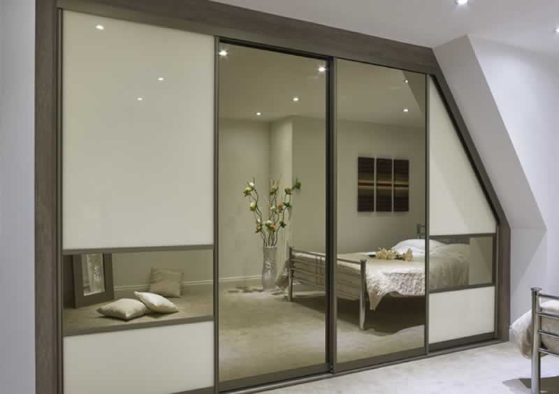 Installing sliding wardrobe doors - made to measure