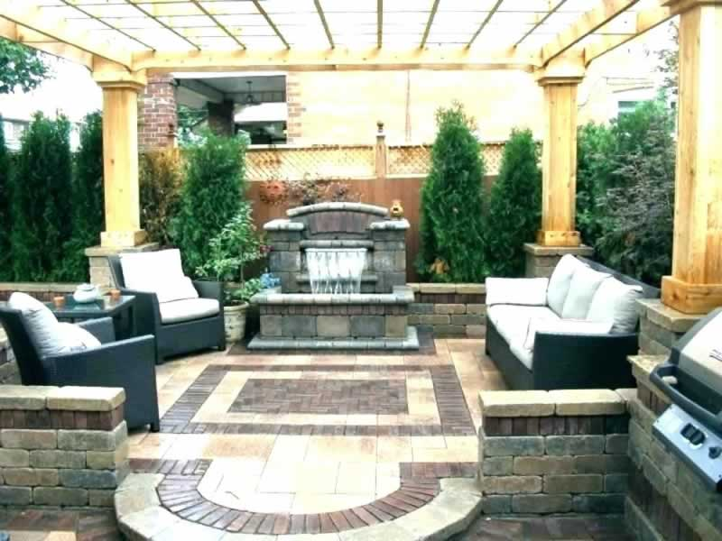 Outdoor Decorating Ideas for Small Spaces - amazing patio
