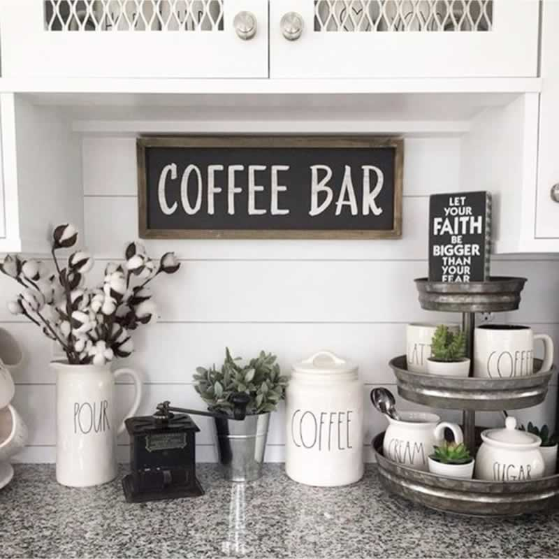Smart Ideas for Organizing Your Kitchen Coffee Bar